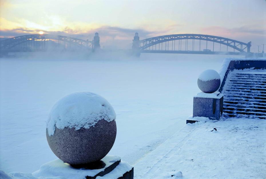 Санкт петербург зимой фото 2