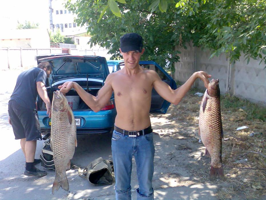 рыбалка на суше