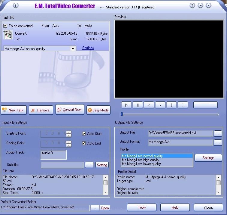 Компания из Гонконга Effectmatrix выпустила новую версию Total Video Conver