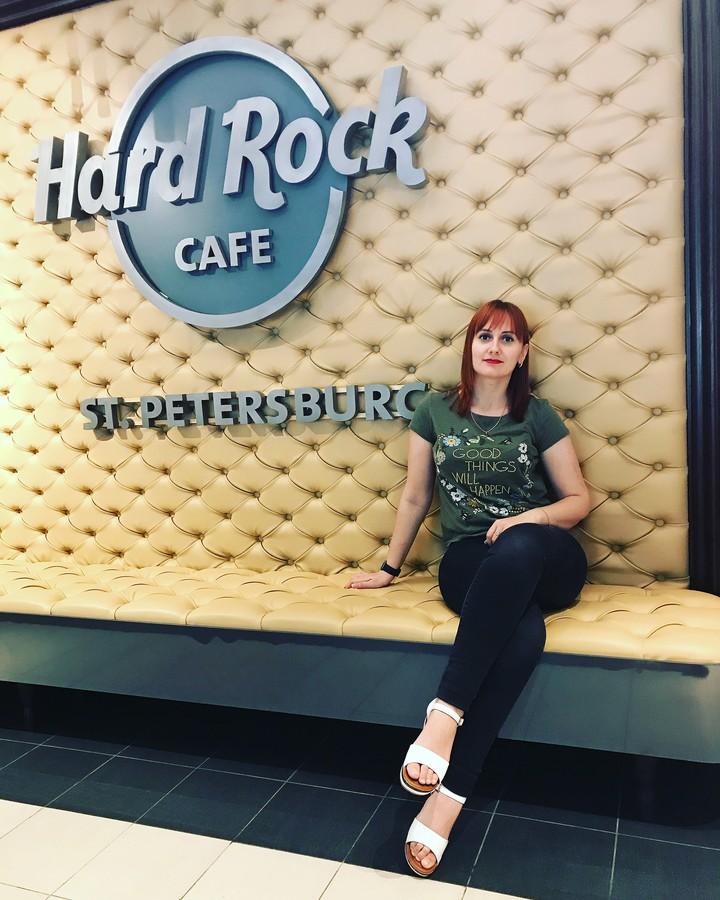 2018-08-06 21:47:17: Hard Rock Cafe в Питере
