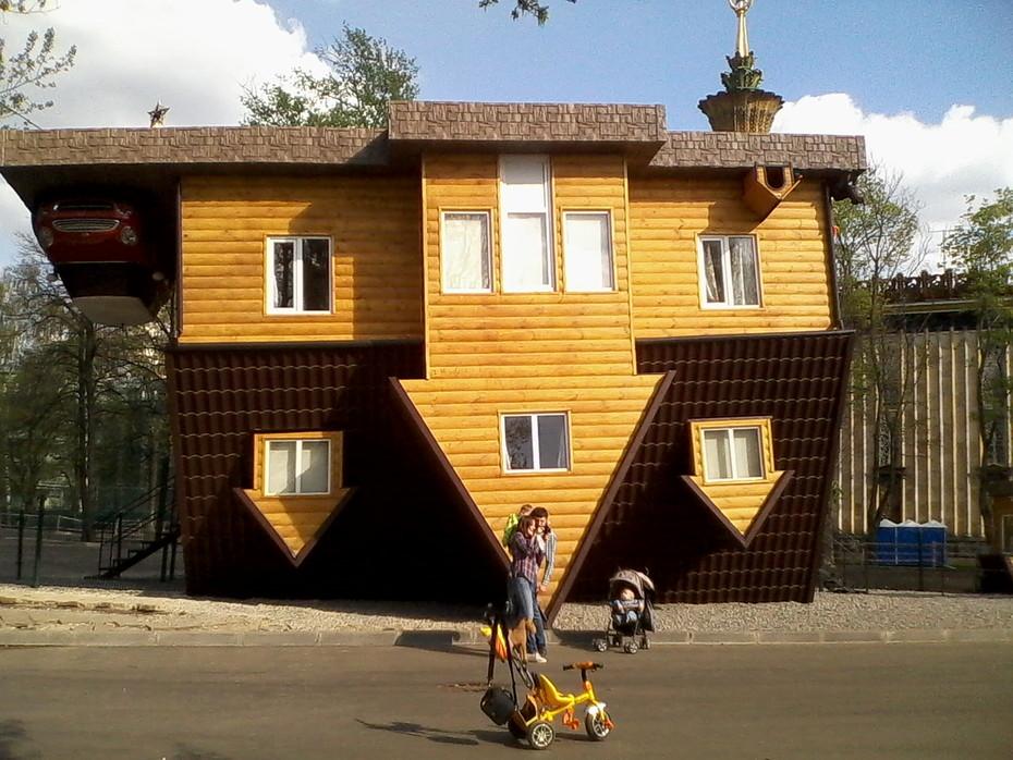 Перевернутый дом на вднх